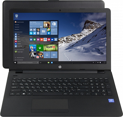 "Ноутбук 15,6"" HP Pavilion 15-bs009ur Pentium N3710/4Гб/SSD 128Гб/Intel HD Graphics 405/1366×768 (HD)/TN/no ODD/Win 10/черный"