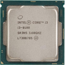 Процессор Intel Core i3-8100 OEM 3,6Гц/4core/Intel UHD Graphics 630/6Мб/65Вт/LGA 1151v2
